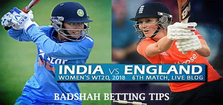 India Women Vs England Women 6th T20 Betting Tips Live Matches England Match