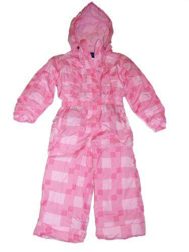36ee7c78f Girls Toddler Iceburg One Piece Snowsuit Set Parka Jacket