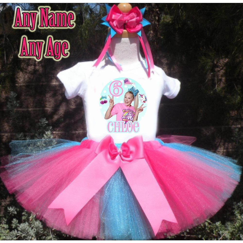JoJo Siwa 3rd 4th 5th 6th 7th 8th 9th Birthday Outfit
