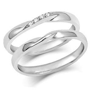 Ribbon Twist Wedding Rings WEDDING BANDS Pinterest Ring