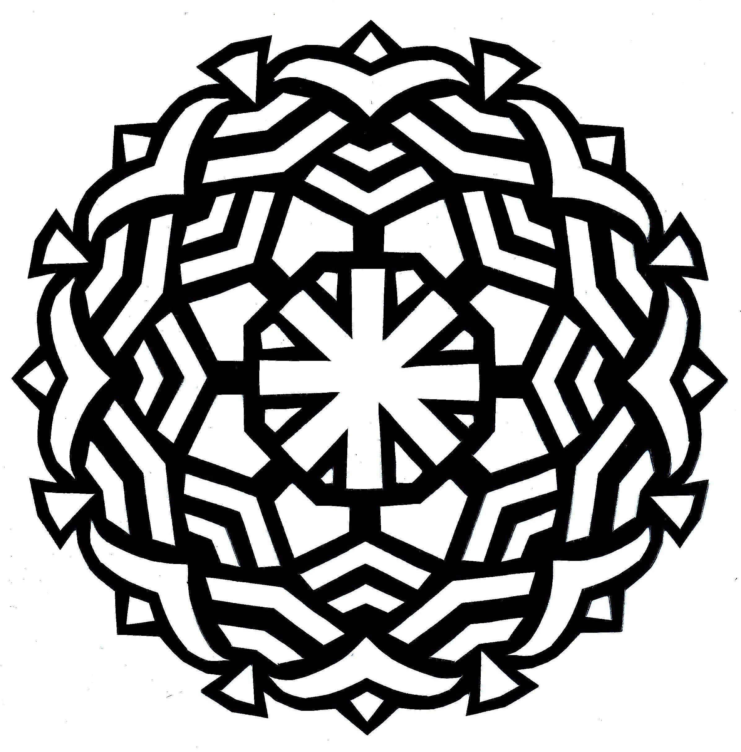 Trends For > Difficult Mandala Coloring Pages Printable | Coloring 4 ...