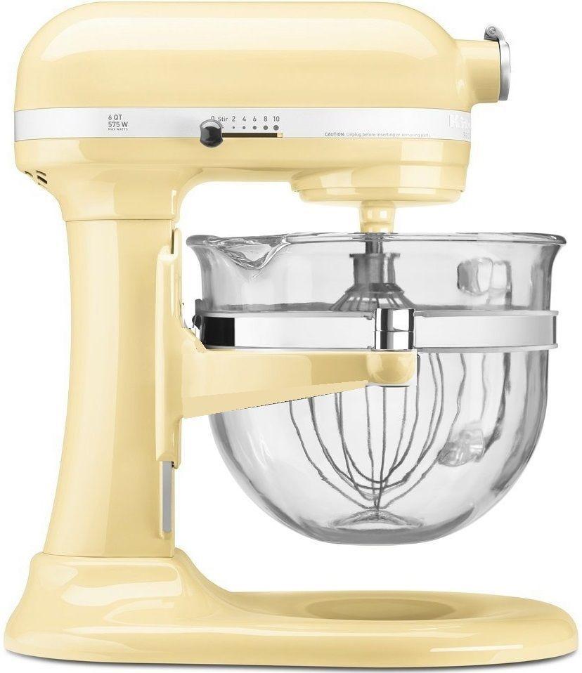 Kitchenaid kf26m2xac 6qt professional 600 design glass