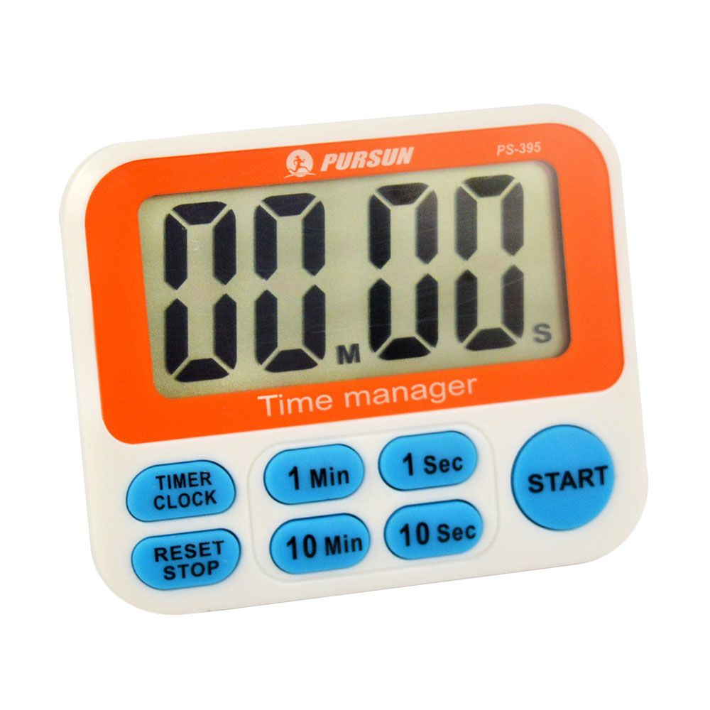Timer Countdown Up 10 Min 10 Sec Fast Setting Digital Lcd 12 Hours Clock Kitchen Cooking Sport 10 Minutes 10 Seconds Fast S Timer 12 Hour Clock Cooking Kitchen