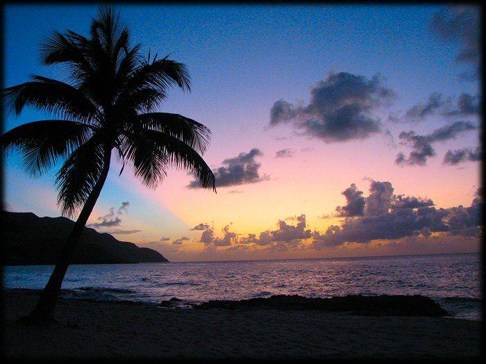 Virgin Islands St Croix Southern Caribbean Cruise Sunset St Croix