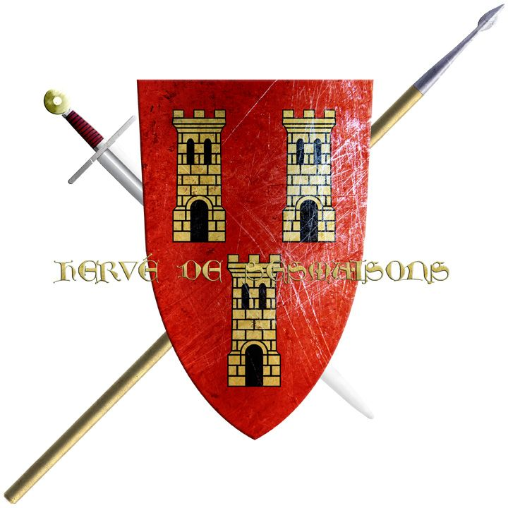 Hervé de Sesmaisons. Of an ancient noble house from Nantes, he took the Cross in 1248 to join the sixth crusade.