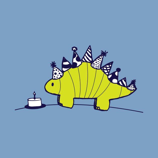 Birthday Stegosaurus