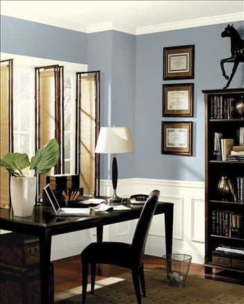 Benjamin Moore Solitude Paint Colors Pinterest Home Office