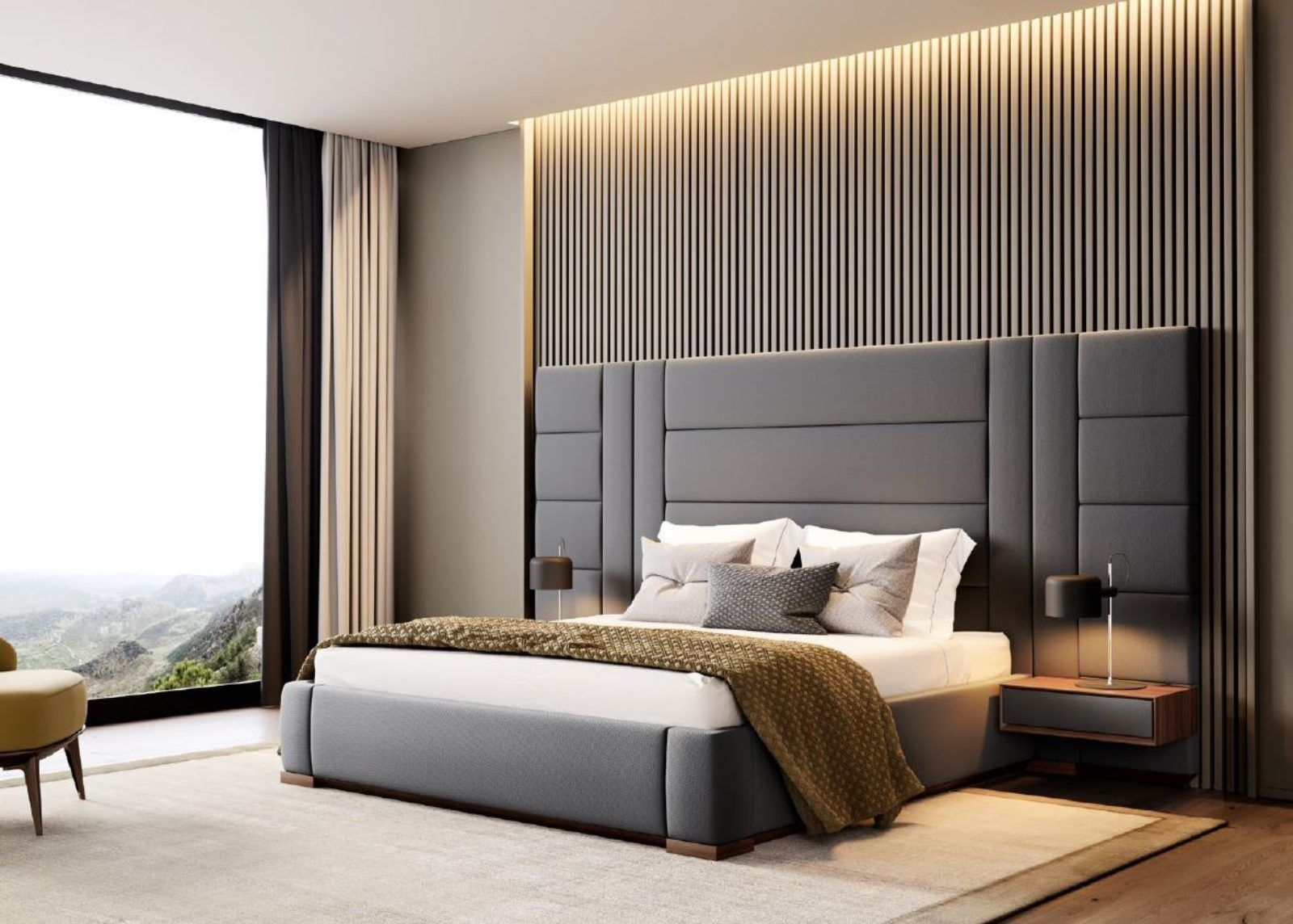 Contemporary Bedroom Interior Design That Very Cozy 04 Realivin Net Room Design Bedroom Luxury Bedroom Design Luxurious Bedrooms