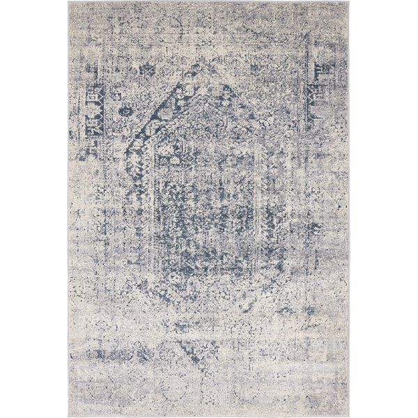 Abbeville Gray Navy Blue Area Rug Ox Dining Room Navy