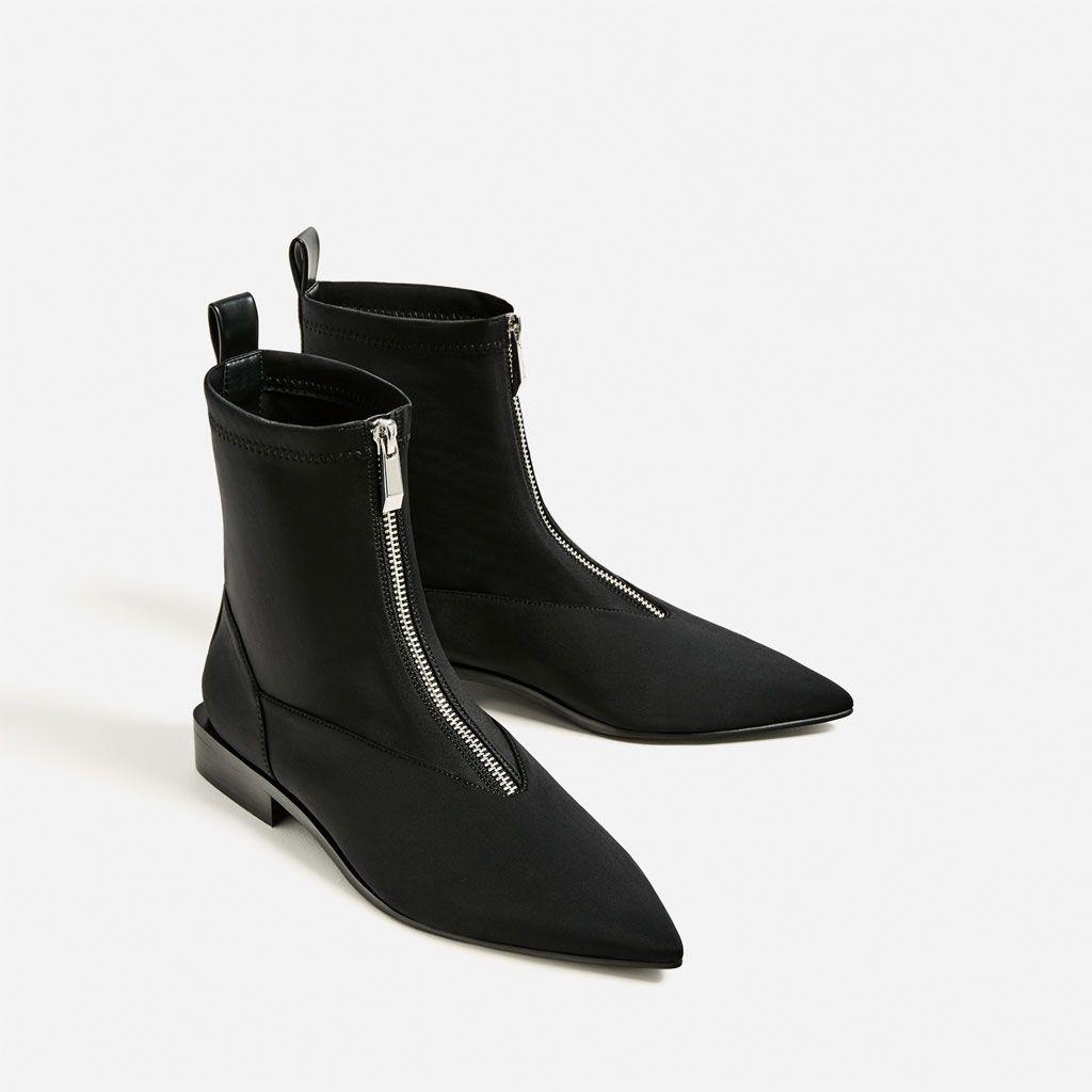 vendita scontata comprare a buon mercato goditi il prezzo più basso Immagine 3 di STIVALETTO BASSO PUNTA di Zara | Abbigliamento ...