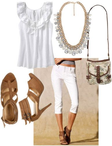 Outfits Under $100: Ways to Wear White