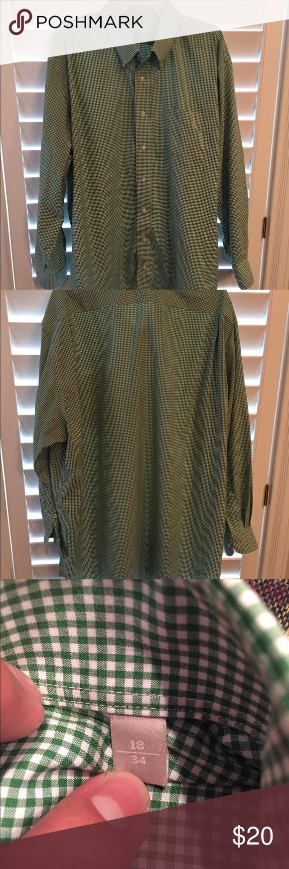 Green checkered dress shirt  Menus Nordstrom  Green and white dress shirt  My Posh Picks