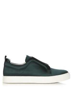 Low-top satin trainers | Pierre Hardy | MATCHESFASHION.COM