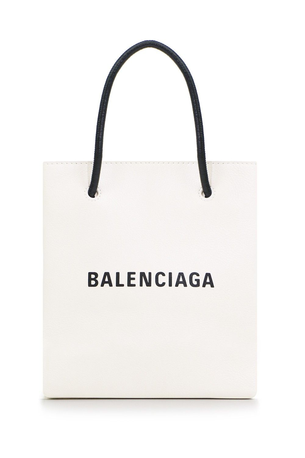 d653359911 The Balenciaga Logo XXS Shopping Tote is a small square shape shopping bag  with top magnetic