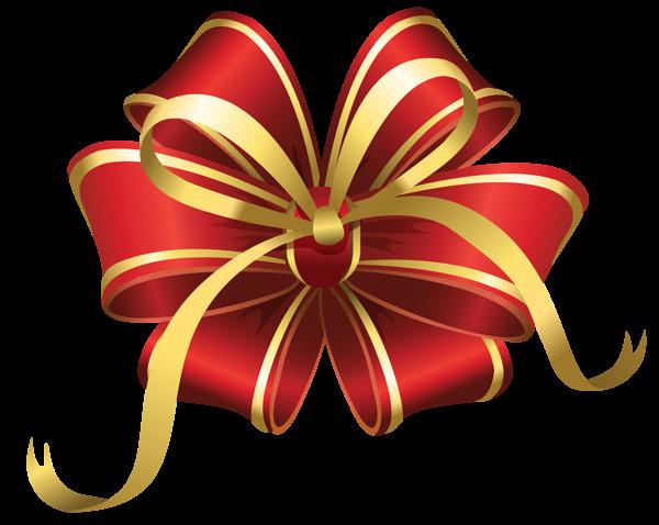 Transparent Christmas Red Decorative Bow Png Clipart Arcos De Navidad Lazo Navideno Dibujos De Navidad