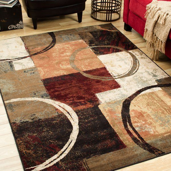 This Latitude Run Alcazar Brown X2f Black Area Rug Adds A Vibrant Texture And Contrast To The Decor Of Any Room It Is Placed In Area Rugs Black Area Rugs Rugs