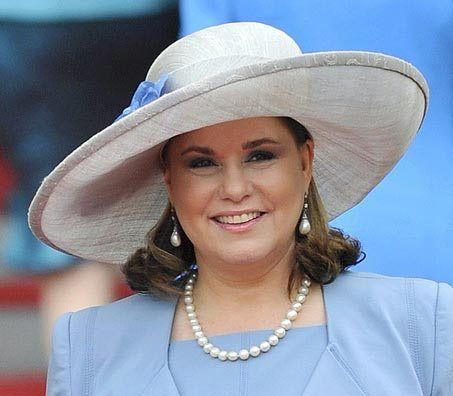 Maria Theresa Grand Duchess of Luxembourg. March 2016