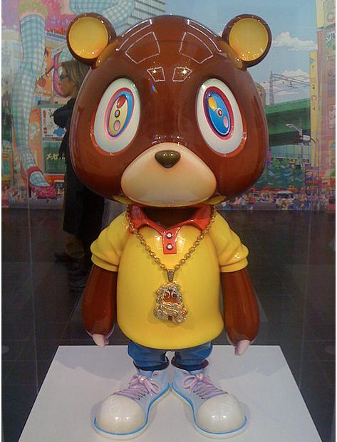 Kanye West Bear Tumblr Takashi Murakami Murakami Art Toy