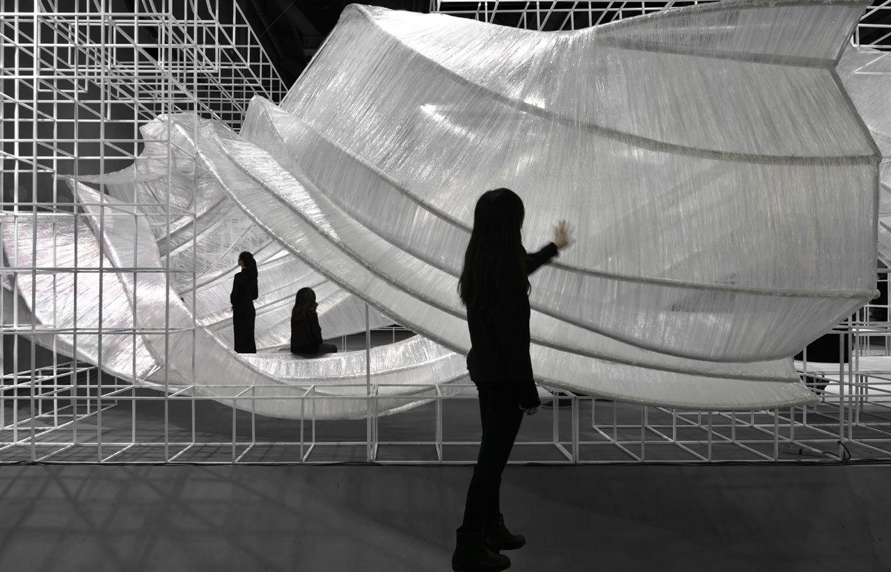 Transparent Shell By Pone Architecture Pavilion Architecture