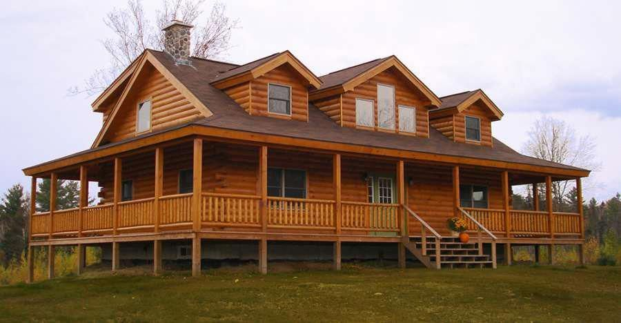 What Does It Mean To Dream About Houses And Homes Dreamhouseexterior Log Home Plan Log Homes Luxury Beach House