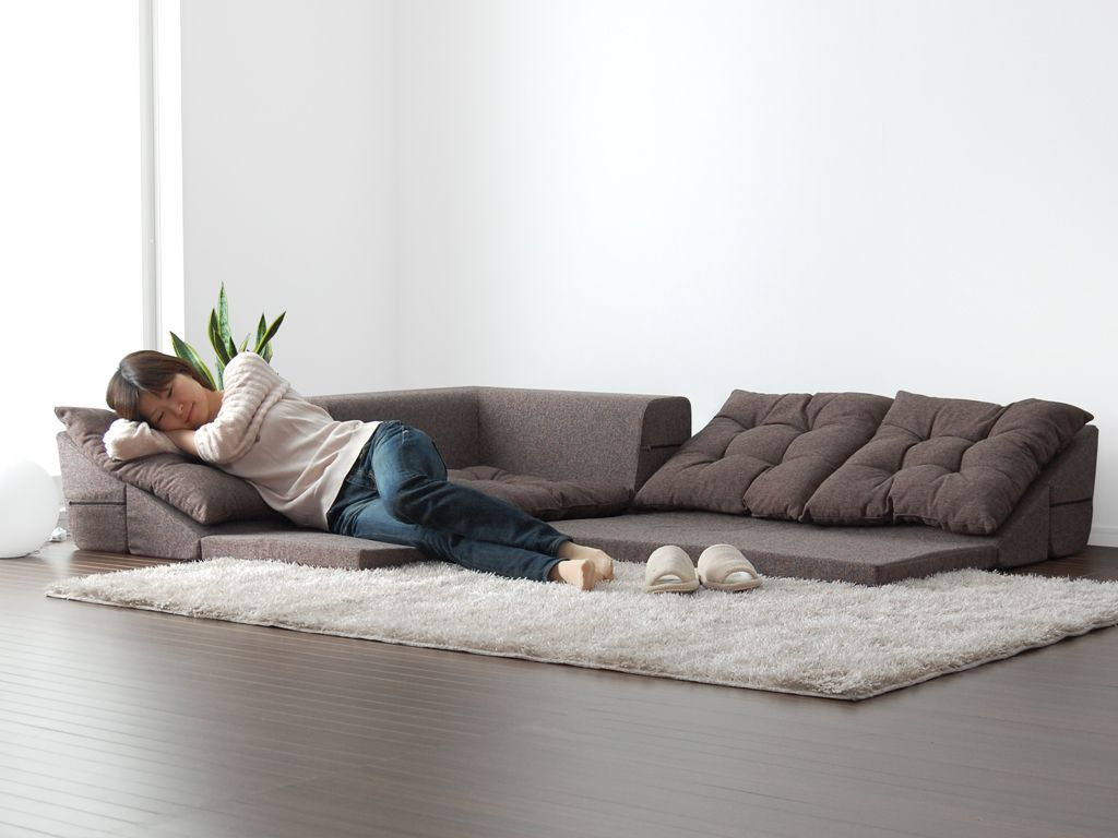 Nagomi floor sofa  Clutter  home in 2019  Floor couch