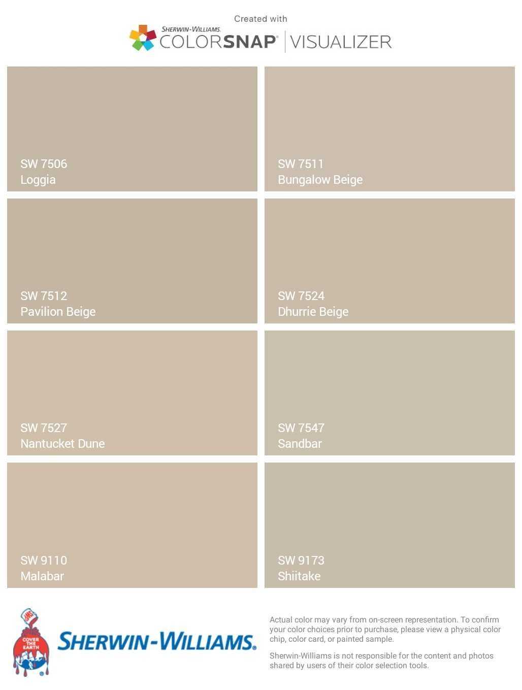 Sherwin Williams Beige And Greige Loggia Bungalow Beige Pavilion Interior Paint Colors Sherwin Williams Exterior Paint Colors For House Beige House Exterior