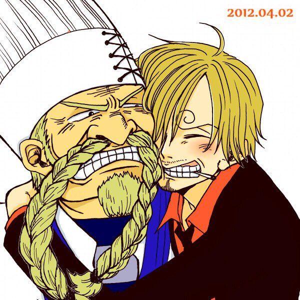 One Piece, Sanji, Zeff   Anime one piece, Sanji one piece ...