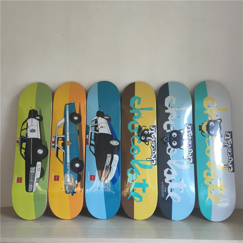 "67.64$  Watch here - http://alidzu.worldwells.pw/go.php?t=32759082262 - ""CHOCOLATE Skateboard Deck Professional Skate Deck 8.25"""" Maple Deck Street Skateboard Deck"""