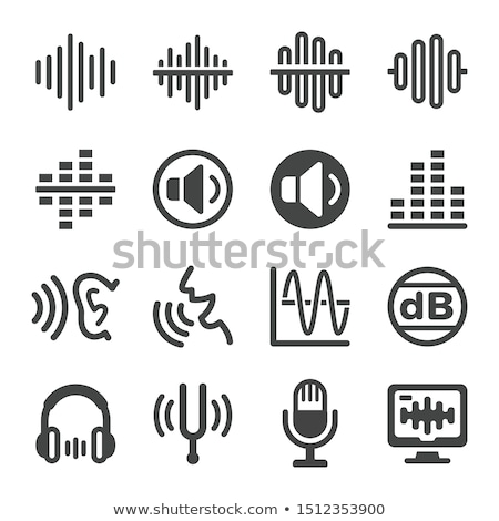 Voice And Sound Icon Set Vector And Illustration Icon Set Vector Vector The Voice