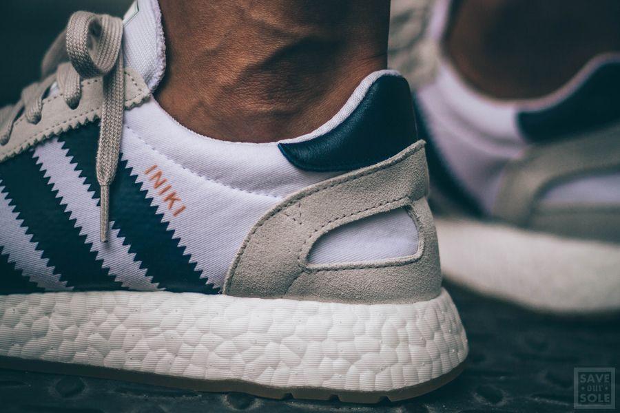 Adidas Iniki Runner White Navy Gum | Neu | Save Our Sole
