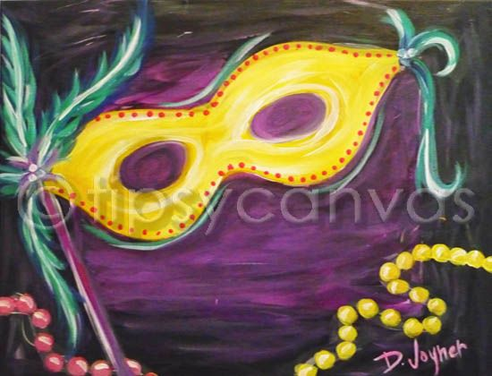 Pin By Stefanie Battle On Slate Sign Ideas Mardi Gras Decorations March Themes Canvas Painting Diy
