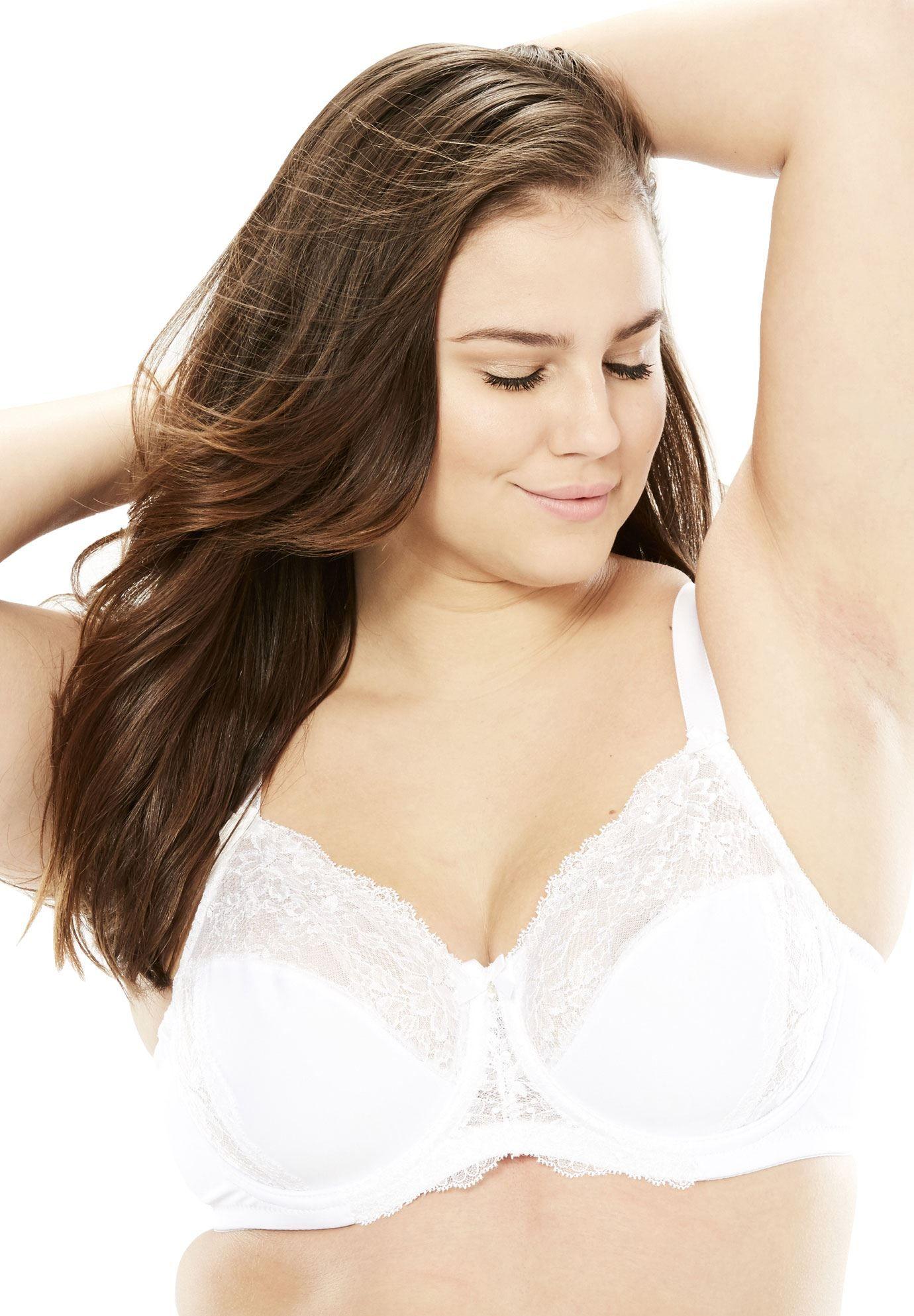 8715541997 Wonderwire lace bra by Glamorise - Women s Plus Size Clothing ...