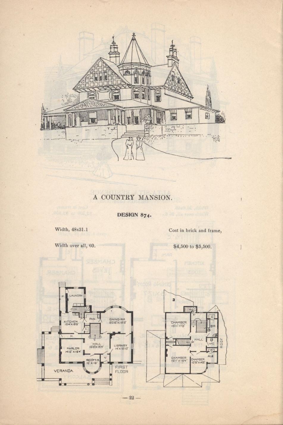 Artistic City Houses No 43 Vintage House Plans City House House Blueprints