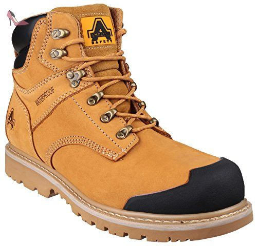 Amblers Safety Fs420 Caimen S3 Waterproof Boot Brown Size 12 P4jw7