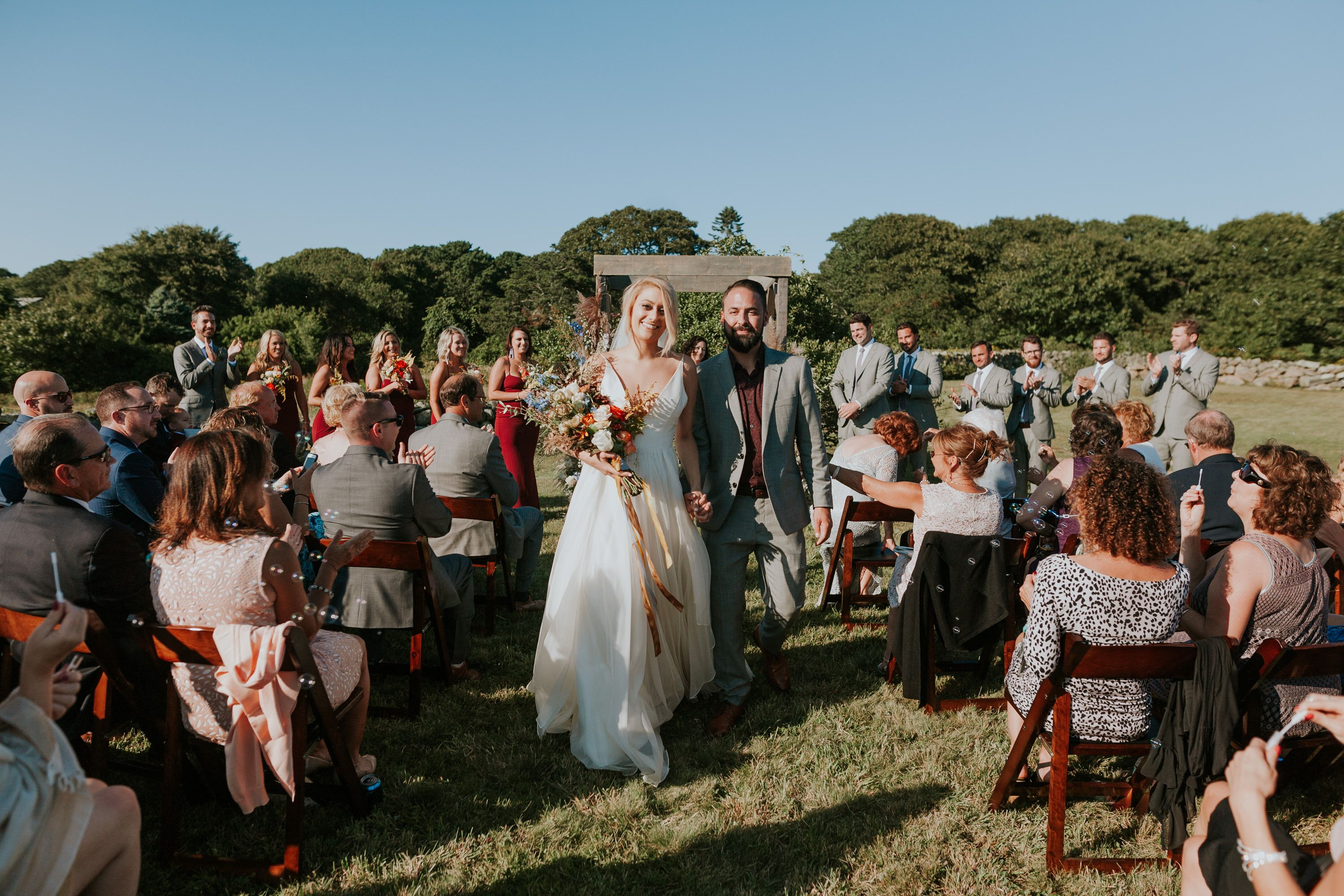 Sarah + Zach | Martha's Vineyard Wedding