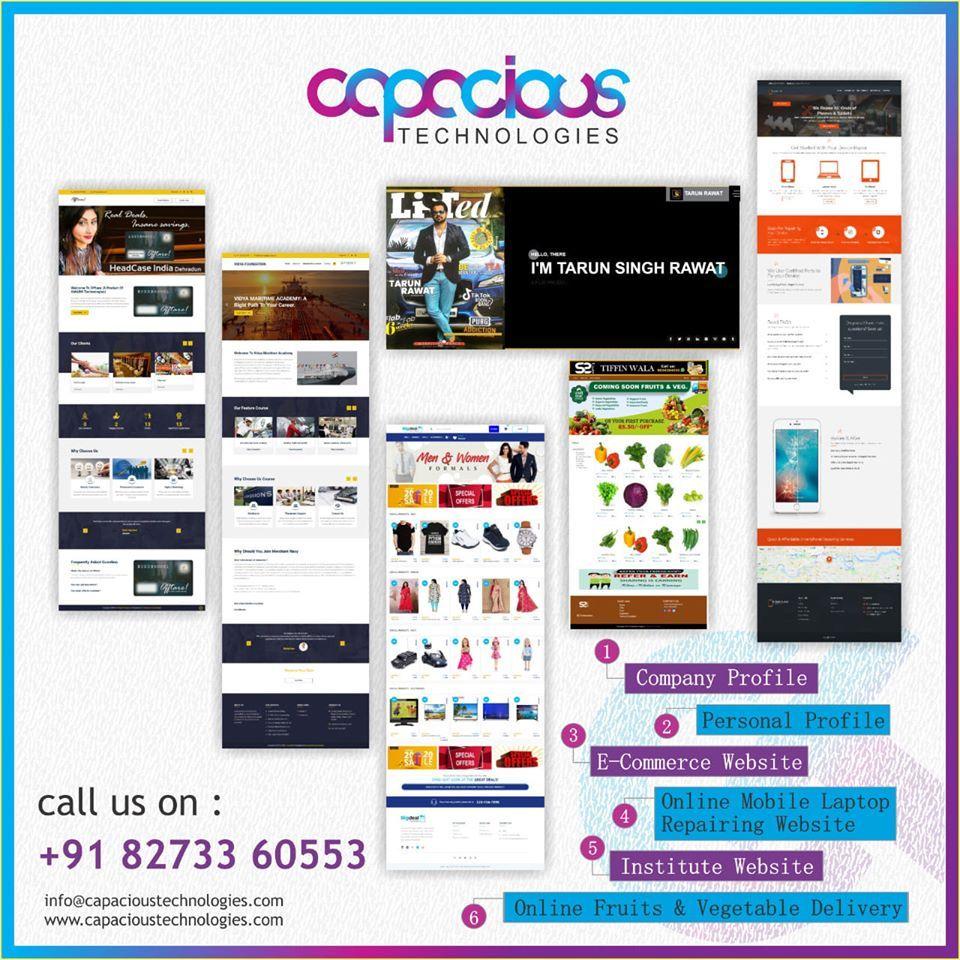 Capacious technologies digital marketing digital