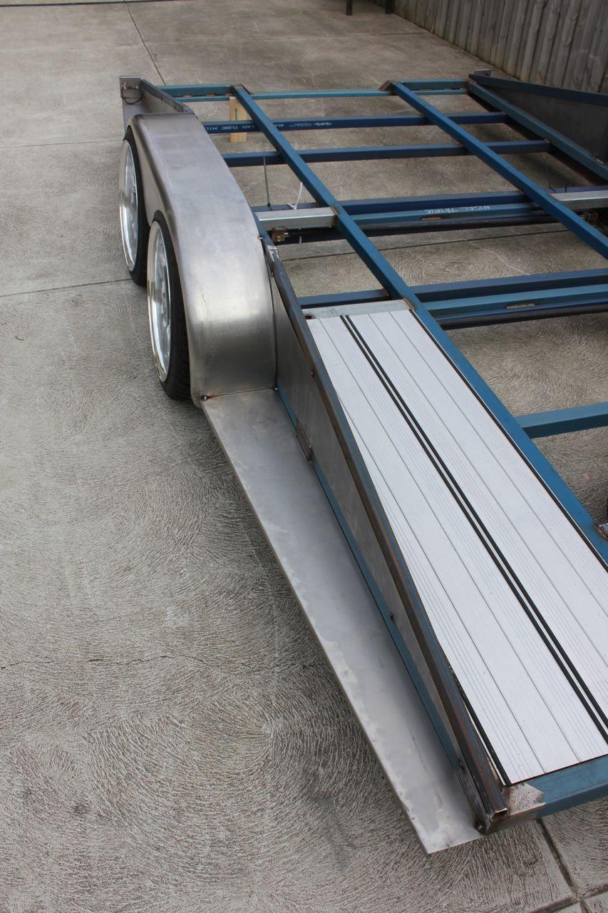 ets trailer build - sheetmetal edition   trailer build, car hauler ... merritt trailer wiring diagram  pinterest