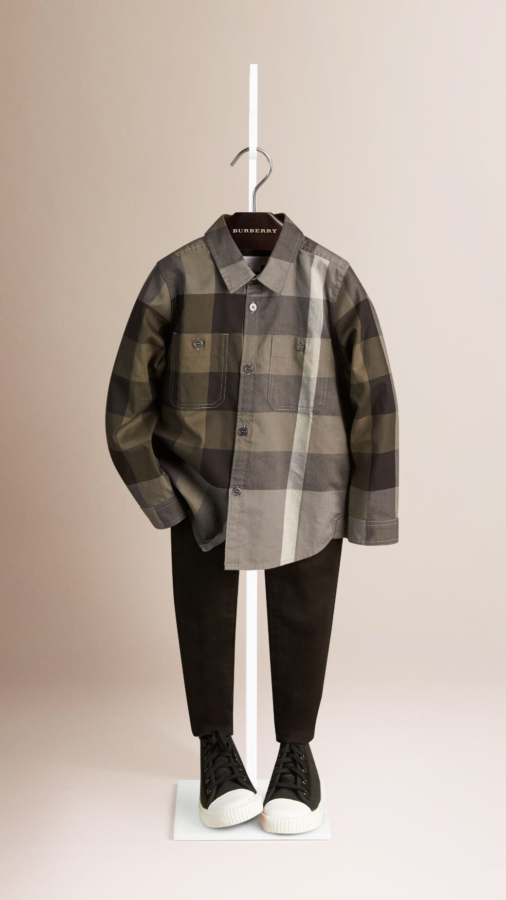 Baby Boy Burberry Shirt