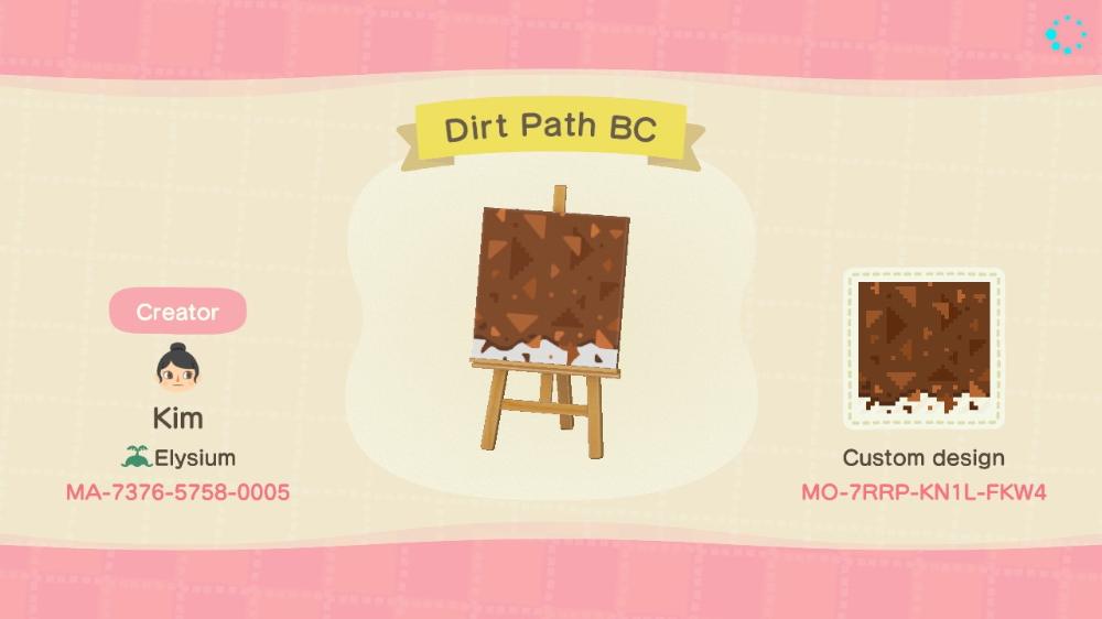 Dirt Path Codes Animal Crossing Animal Crossing Characters Animal Crossing Guide