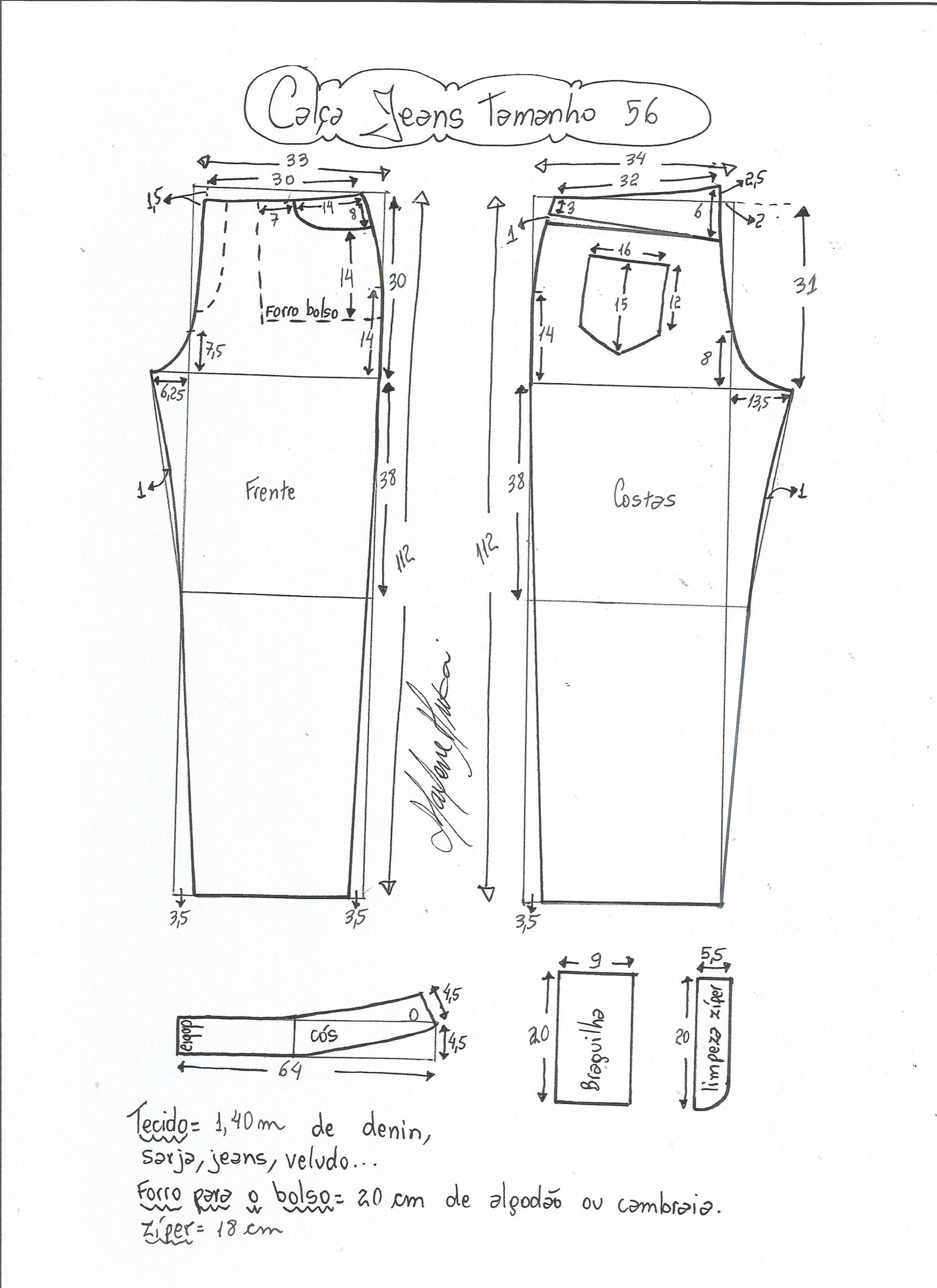 Patrón de pantalones vaqueros | Costura/sewing | Pinterest | Cintura ...
