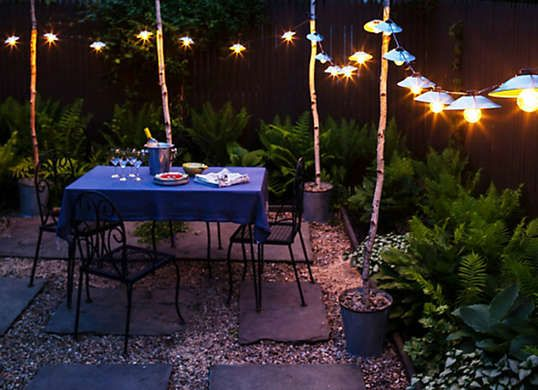 "Outdoor Light Stand Beauteous 19 ""zero Dollar"" Upgrades For Your Outdoor Living Area  Deck Decorating Inspiration"