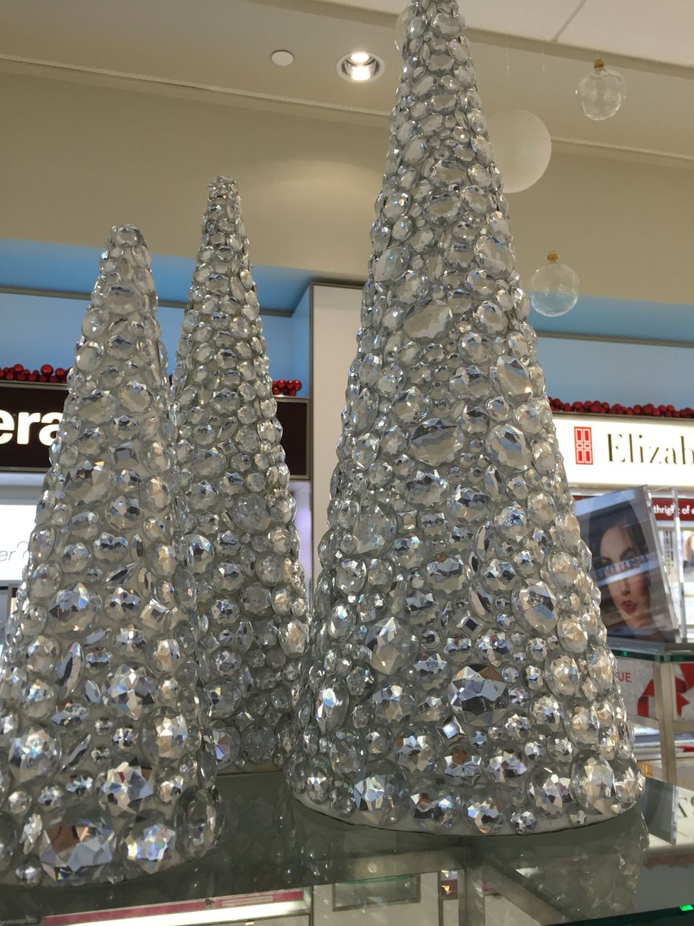 Glass Beads On Cones Seems Easy Enough Christmas Diy Christmas Cones Diy Christmas Tree
