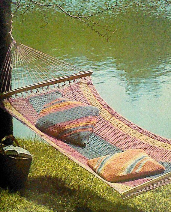 Best 25 Crochet Hammock Ideas On Pinterest How To Make