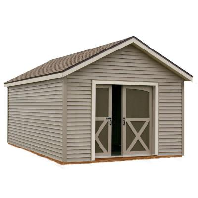 Best Barns South Dakota 12 Ft X 16 Ft Prepped For Vinyl Storage Shed Kit Southdakota 1216 The Home Dep Storage Shed Kits Vinyl Storage Sheds Wood Shed Kits