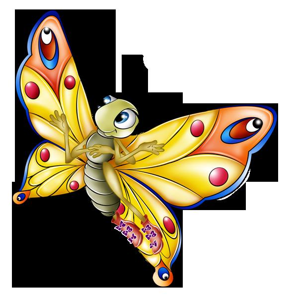 Tubes Papillons Page 7 Clip Art Peinture Papillon Dessin Couleur