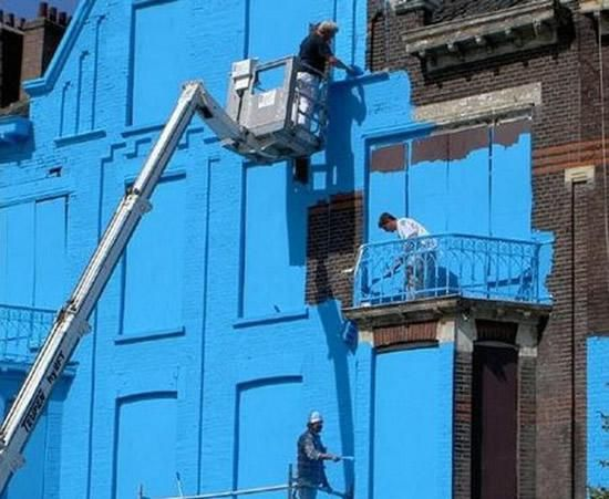 Good Blue Building Of Rotterdam | Only Blue | Pinterest | Rotterdam, Building  And Yellow Brick Road Design