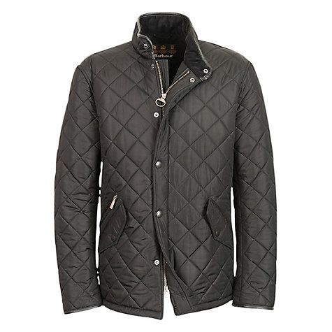 Barbour Lifestyle Powell Quilted Jacket Black Quilted Jacket And