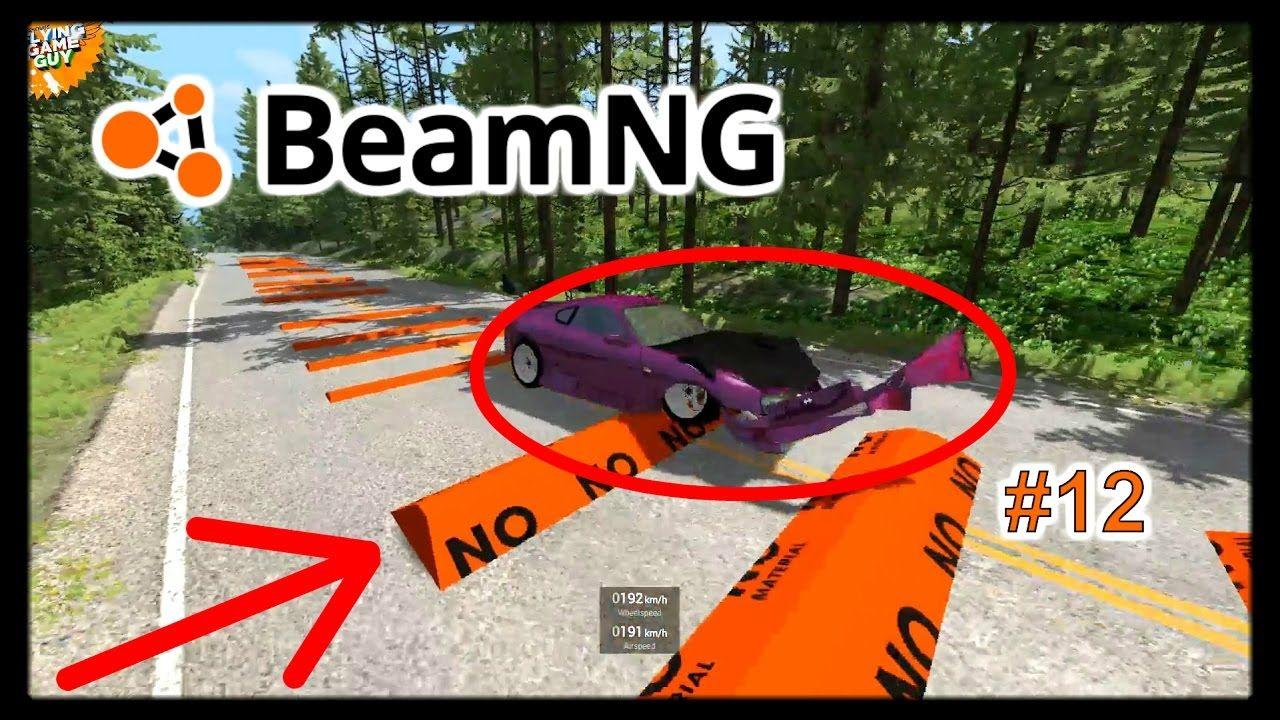 Beamng Drive Speedbump Crashes No Chains No Music 11 Driving