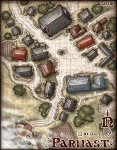 Parnast Village Dm Version Small Fantasy City Map Fantasy Map