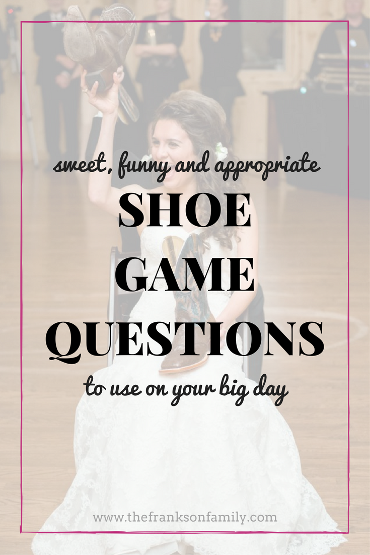 The Best Shoe Game Questions - A Simplified Life